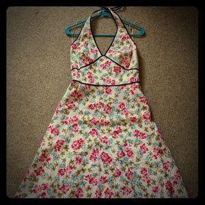 Summer Halter style garden dress